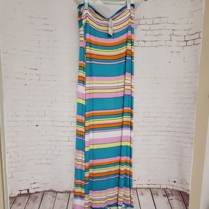 NWT Wet Seal Striped maxi skirt #358